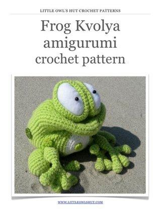 Frog Kvolya Crochet Pattern Amigurumi toy Svetlana Pertseva