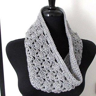 Arched Shells Cowl Crochet Pattern Melissa Martinez
