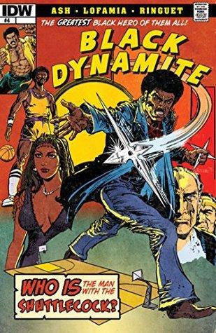 Black Dynamite #4  by  Brian Ash