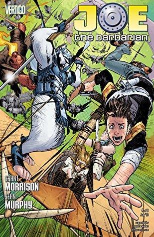 Joe the Barbarian (2010-) #4  by  Grant Morrison