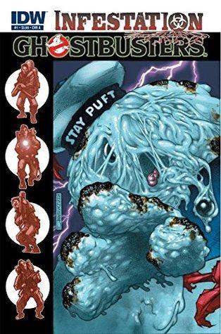Ghostbusters: Infestation #1  by  Erik Burnham