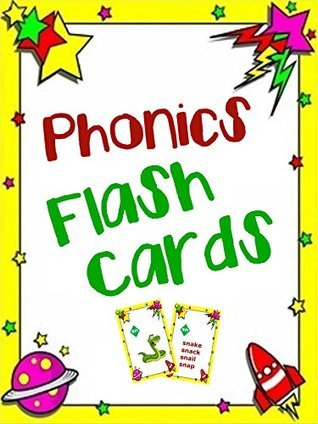 Phonics Flash Cards: Learn to Read Using Phonics Flash Cards for Elementary School Children  by  Professor Mathwhiz