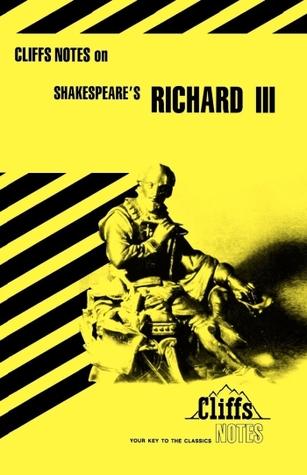 Cliffsnotes Richard III James K. Lowers