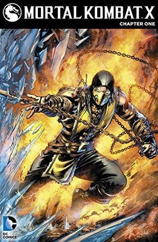 Mortal Kombat X #1 Shawn Kittelsen