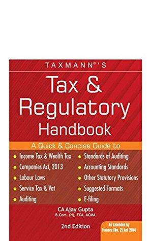 Taxmann Tax & Regulatory Handbook As Amended Finance (No.2) Act 2014 by CA AJAY GUPTA