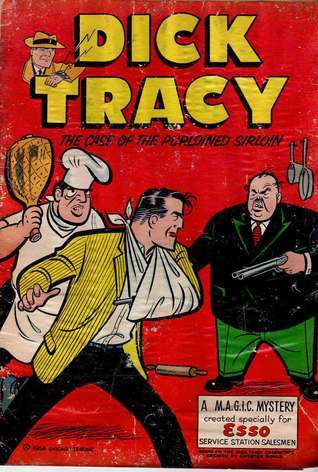 Dick Tracy The Case of the Purloined Sirloin (Comic Book) Chester Gould