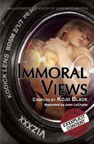 Immoral Views: An illustrated anthology of voyeuristic erotica  by  Kay Jaybee