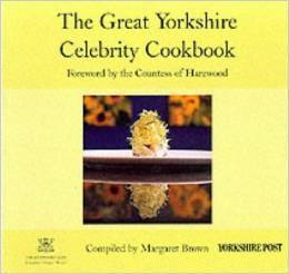 The Great Yorkshire Celebrity Cookbook  by  Margaret Brown