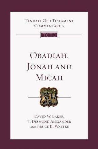 TOTC Obadiah David W. Baker