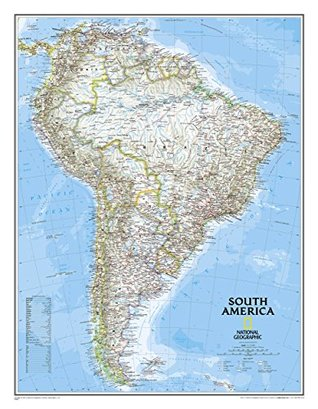 South America Classic [Laminated] (National Geographic: Reference Map) National Geographic Society