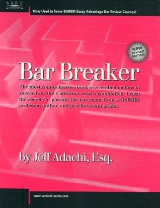 Bar Breaker  by  Jeff Adachi