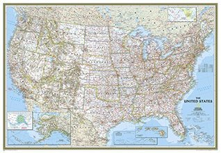 United States Classic [Enlarged and Tubed] (National Geographic: Reference Map) National Geographic Society