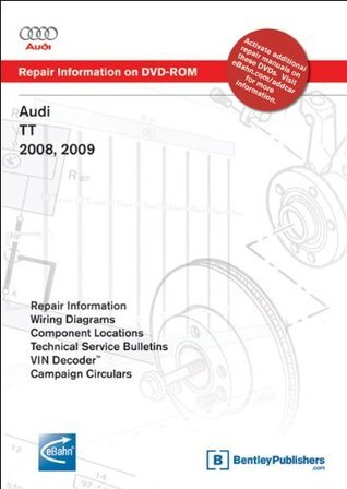 Audi TT 2008, 2009: Repair Manual on DVD-ROM (Windows 2000/XP)  by  Audi of America