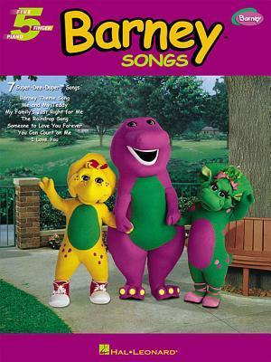 Barney Songs: Five Finger Piano  by  Hal Leonard Publishing Company