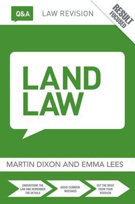 Q&A Land Law  by  Martin Dixon