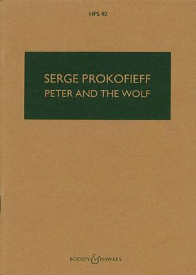 Peter and the Wolf, Op. 67: Study Score  by  Prokofiev Sergei
