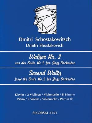 Second Waltz (from Jazz Suite No. 2): Violin, Cello, Clarinet  by  Dmitri Shostakovich
