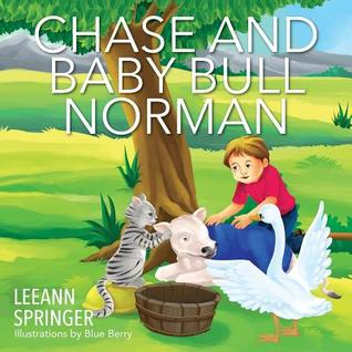 Chase and Baby Bull Norman  by  Leeann Springer