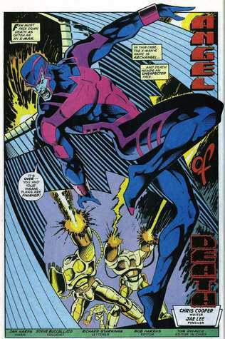 Angel of Death (Uncanny X-Men Annual, # 16) Chris Cooper