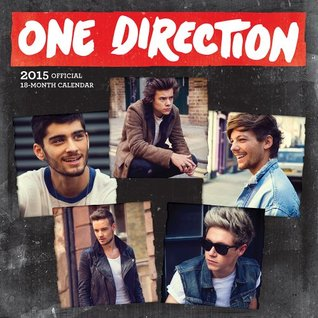 One Direction 2015 Square 12x12 Plato NOT A BOOK