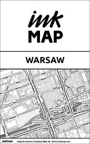 Warsaw Inkmap - maps for eReaders, sightseeing, museums, going out, hotels  by  Verlag Inkmap