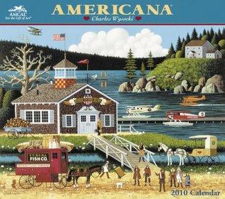 Charles Wysocki Americana 2010 Wall Calendar NOT A BOOK