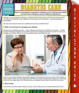 Diabetes Care  by  Speedy Publishing