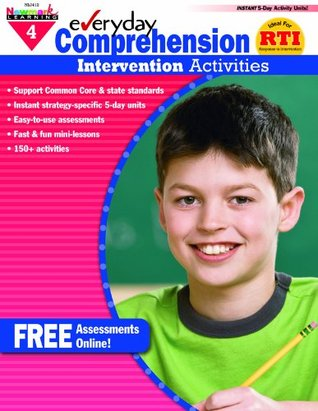 Everyday Intervention Activities for Comprehension Grade 4  by  Sandy Riggs