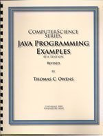 Computer Science Series, C Programming Examples (Examples, 5th Edition)  by  Thomas C. Owens