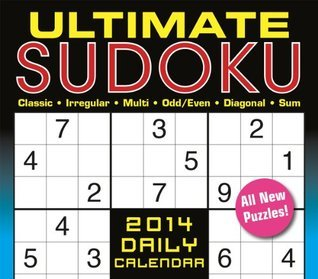 Ultimate Sudoku 2014 Boxed/Daily  by  Conceptis Puzzles