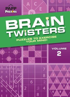 Large Print Brain Twisters Volume 2: Lavender Brain Bill Mersereau