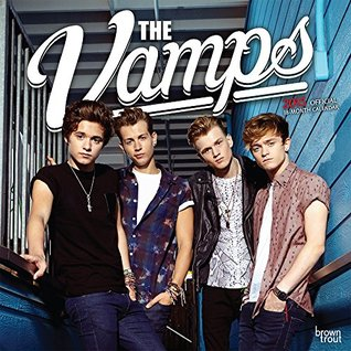 The Vamps 2015 Square 12x12 NOT A BOOK