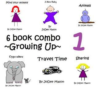 Growing Up 6 Book Combo- 1  by  JoDee Mason