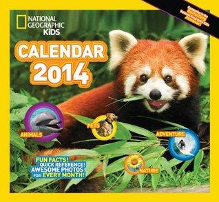 2014 Kids Almanac Calendar Deluxe Wall Zebra Publishing Corp.