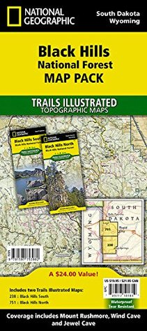 Black Hills National Forest [Map Pack Bundle] National Geographic Society