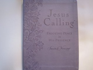 JESUS CALLING  by  Sarah Young / Purple Large Print by Sarah Young