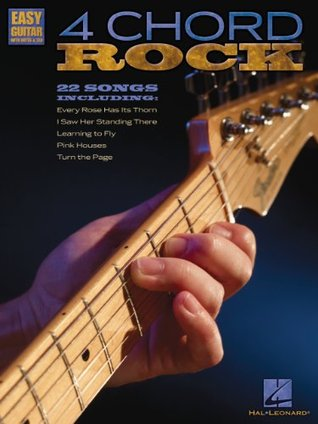 4 Chord Rock Songbook: Easy Guitar with Notes & Tab Hal Leonard Publishing Company