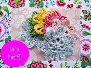 Lace Motif Crochet Pattern 2332  by  Wonderful Hands