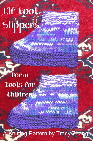 Elf Boot Slippers Knitting Pattern Tracy Zhang
