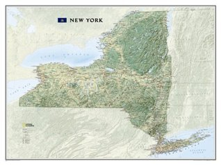 New York [Tubed]  by  National Geographic Maps - Reference