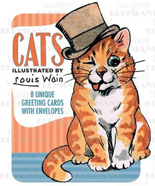 Louis Wain Illustrated Cats Boxed Cards Louis Wain