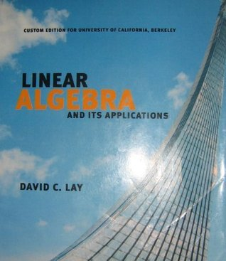 linear algebra and its applications David C. Lay