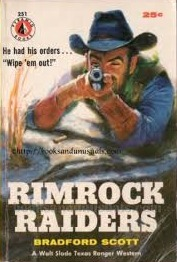 Rimrock Raiders  by  Bradford Scott