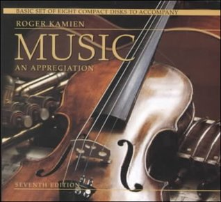 8-CD Basic set for use with Music: An Appreciation  by  Roger Kamien
