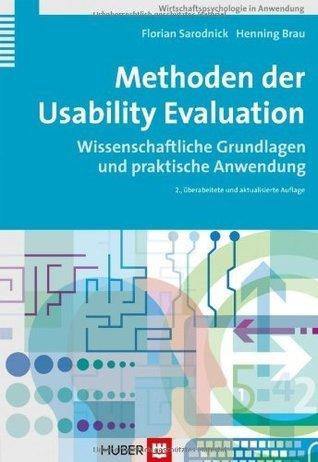 Methoden der Usability Evaluation  by  Florian Sarodnick