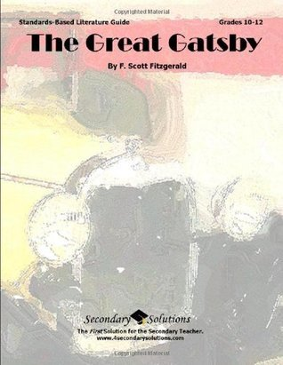 The Great Gatsby Literature Guide  by  Kristen Bowers