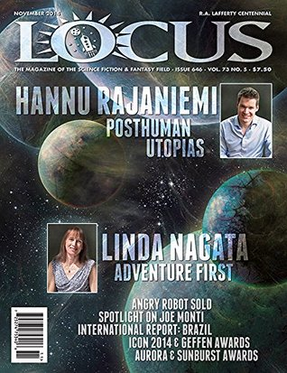 Locus Magazine, Issue # 646, November 2014  by  Liza Groen Trombi