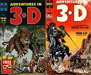 Adventures in 3D. True 3-D on Every Page. Harvey Famous name comics. Issues 1 and 2. Golden Age Digital Comics  by  Golden Age Adventure Comics