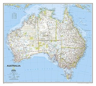 Australia Classic [Tubed] (National Geographic: Reference Map)  by  National Geographic Society