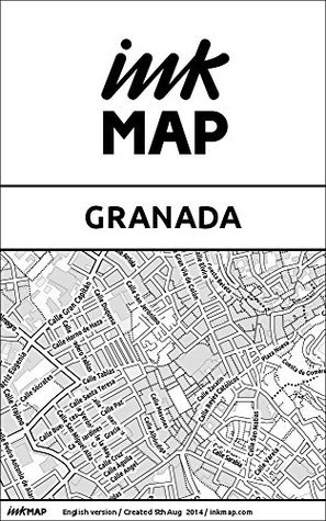 Granada Inkmap - maps for eReaders, sightseeing, museums, going out, hotels  by  Verlag Inkmap
